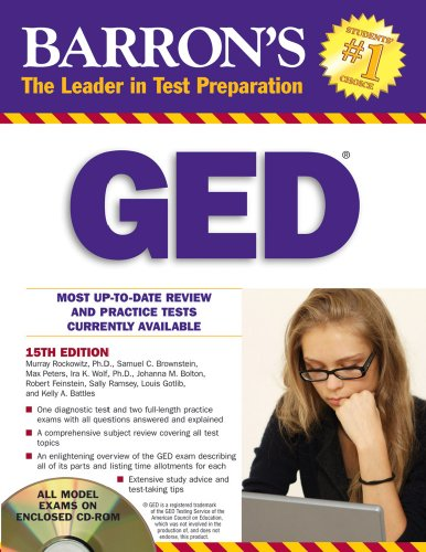 Barron's GED (Barron's: The Leader in Test Preparation)