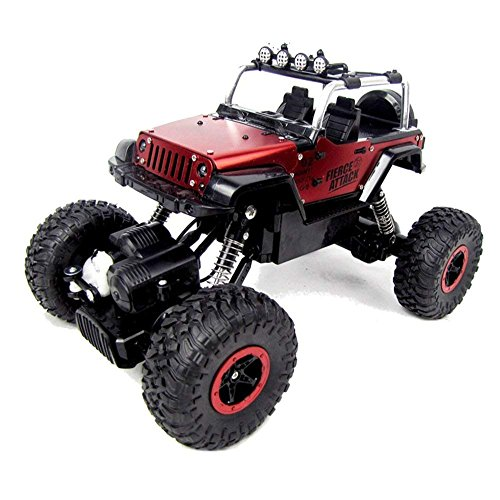 Rabing 1/18 Scale RC Car Newest High-speed Remote Control Car 4WD Radio Controlled Electric Vehicle Off-road Rock Crawler -