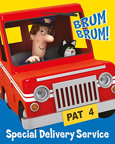 Empire Merchandising 688637 Mini Poster 40 x 50 cm, Board, Multi-Colour (Postman Pat Special Delivery Service Series 2)