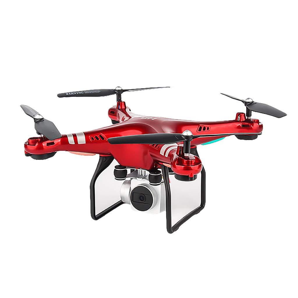 últimos estilos Mamum RC Drone Drone Drone Cámara ,HD5H Gran Angular Ajustable 1080p 5MP HD Cámara WiFi FPV Live Quadcopter Drone (Rojo)  para barato