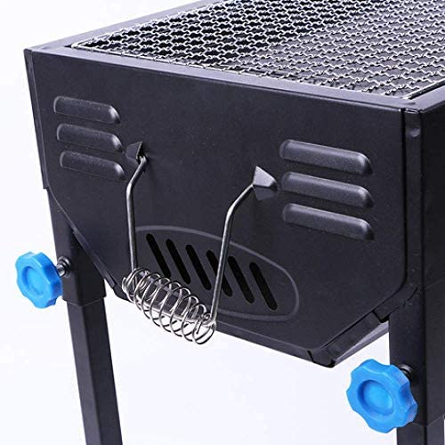 ZJSK Easy Barbecues Set Portable Grill Multi-Function Grill Grill à Charbon de Bois
