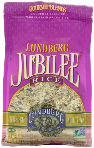 Lundberg Family Farms Jubilee Rice, 16 Ounce (Pack of 6)