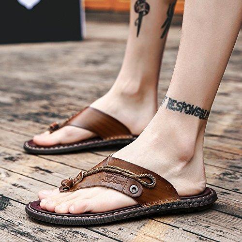 Sandalias Verano Desgaste De Hombres 6605 Chanclas Zapatillas Khaki Moda Sandals Sandalias De Sandalias O4fq8n