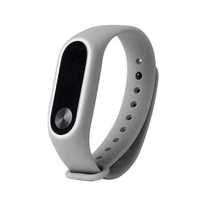 Zolimx Gel de Silicona Pulsera Xiaomi Mi Band 2 Correa Reloj Original Para Xiaomi Mi Band