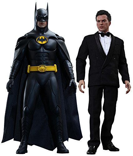 Movie masterpiece Batman returns Batman and Bruce Wayne (2 pieces) 1 / 6 scale plastic pre-painted PVC figure