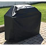 Comp Bind Technology Grill Cover for Weber Genesis II E-310 Gas Grill, Outdoor, Waterproof Black Grill Cover 54''W x 29''D x 45''H