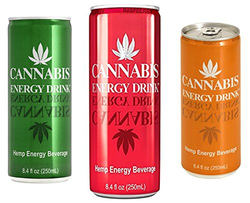 Raz Pack - 6-8.45oz Cans of Your Weekend Energy Drinks (3 Flavor Cannabis Variety Pack)