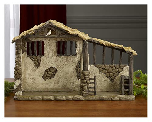 - THREE KINGS GIFTS THE ORIGINAL GIFTS OFCHRISTMAS Three Kings Gifts Lighted Stable for Real Life Nativity, 7 Inch Scale,