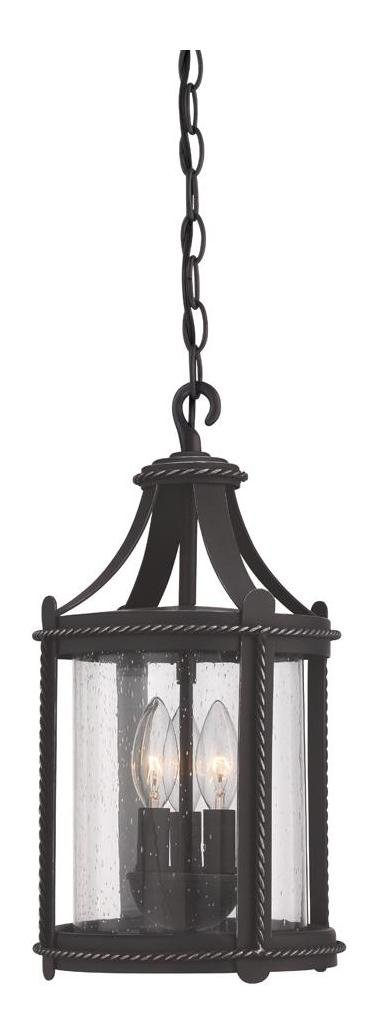 Artisan Pardo Wash Palencia 3 Light Outdoor Small Pendant