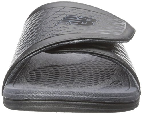 New Balance Herren Cush + Slide Sandale Schwarzgrau