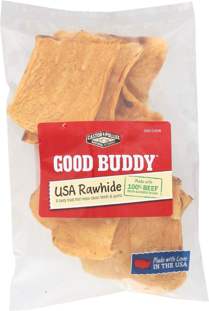 Castor & Pollux Natural Petworks (NOT A CASE) Good Buddy Rawhide Chips Dog Chews by Castor & Pollux Natural Petworks