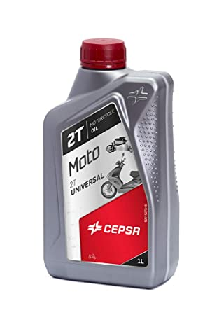 CEPSA 514224187 Universal (1L) Lubricante para Todo Tipo de Motos de 2T