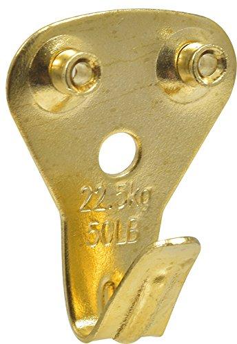 Hillman 42085 Classic Picture Hanger 50lb, Gold, 5 Piece