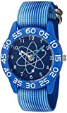 eWatchFactory Boy's 'Discovery Channel' Quartz Plastic and Nylon Sport Watch, Color Blue (Model: WDC000023)