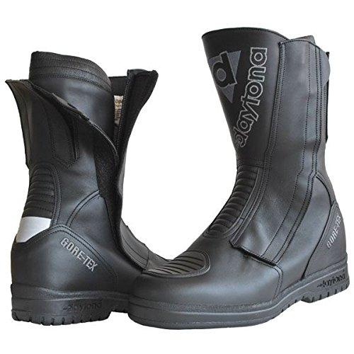 Daytona M-Star Gore Tex Black Leather Motorcylce Boot Size EU40, UK6.5