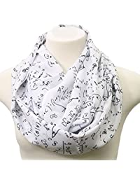 Math Infinity Scarf gift for her nerd engineer teacher geek present