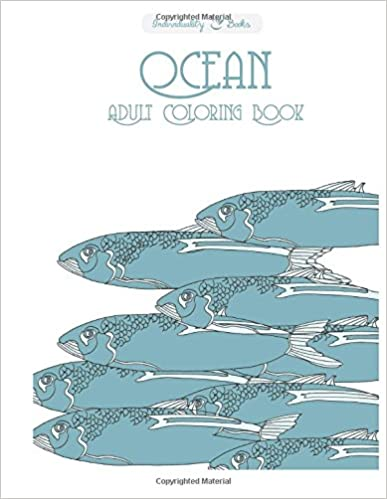 Ocean Adult Coloring Book