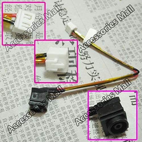 ShineBear 1-10 pcs Laptop DC Power Jack for Sony VAIO VGN-NR VGNNR PCG-7113L PCG-7133L DC Jack with Cable Connector 073-0001-3775A Cable Length: 5 PCS