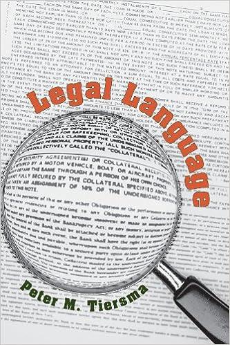 Book Legal Language