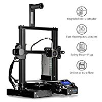 "SainSmart x Creality Ender-3 3D Printer, Resume Printing V-Slot Prusa i3, for Home & School Use, Build Volume 8.7"" x 8.7"" x 9.8"" by SainSmart"