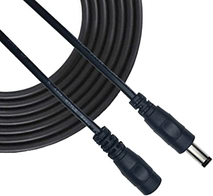 Liwinting 10m Dc Verlängerungskabel 5 5 Mm X 2 5 Mm Dc Elektronik