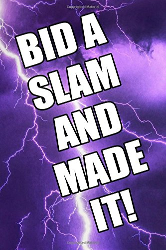 Read Online Bid A Slam And Made It Bridge Player's Journal pdf epub