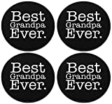 Best ThisWear Ever Bars - Best Grandpa Ever Coaster Funny Father's Day Gift Review