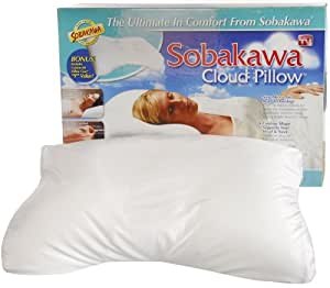 "Sobakawa Cloud Pillow 12.6"" x 18.5"" x 3.15"""