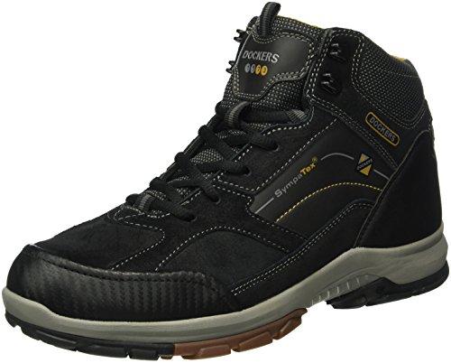 Dockers by Gerli 39fa007-216100 - Zapatillas de senderismo Hombre Negro - negro