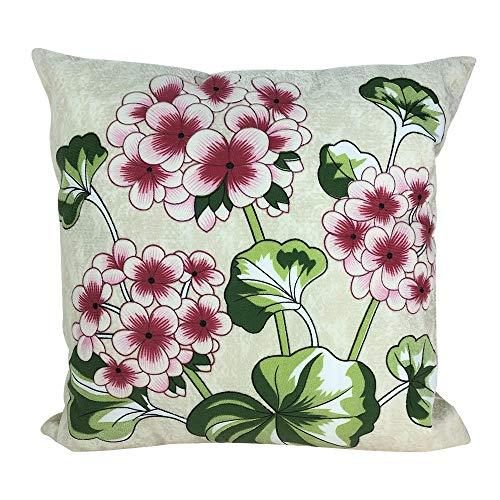 Littay Pillowcase 3D Printing Back Cushion Home Pillow Sofa Pillow Short Plush Pillow -