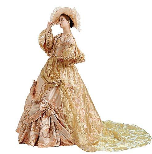 KEMAO High-end Hof Rococo Barok Marie Antoinette Bal Jurken 18e Eeuw Renaissance Historische Periode Jurk Jurk Jurk Jurk…