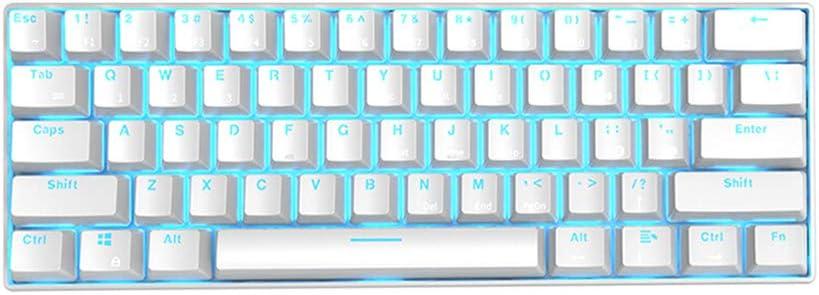 NQO - Teclado combo con teclado y ratón mecánico para juegos ...