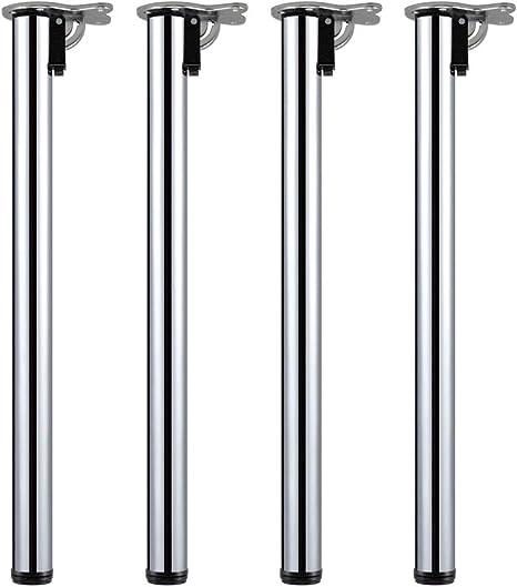 Piedi Gamba per Tavolo 800 1000 mm Acciaio Inossidabile V2Aox