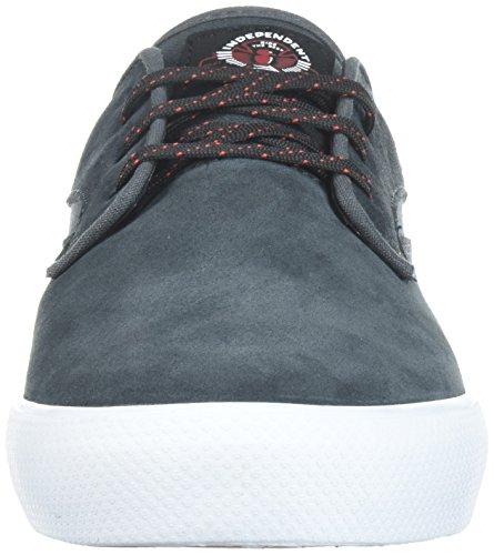 Hawk Skate Shoe Riley Indy Collab X Lakai Charcoal Men's Suede FTExYqF1