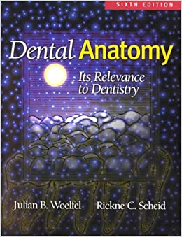 Dental Anatomy: Its Relevance to Dentistry by Julian B. Woelfel (2001-10-01)