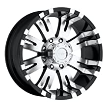 "Pro Comp Alloys Series 01 Gloss Black Wheel with Machined Face (17x8""/6x139.7mm)"