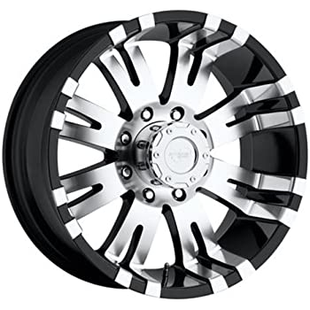 """Pro Comp Alloys Series 01 Gloss Black Wheel with Machined Face (17x8""""/6x139.7mm)"""