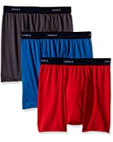 Hanes Red Label Men's 3-Pack X-Temp Performance Cool Short Leg Boxer Brief