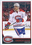 2017-18 Panini Stickers #100 Andrew Shaw Montreal Canadiens Hockey Sticker