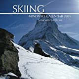 Skiing Mini Wall Calendar 2016: 16 Month Calendar