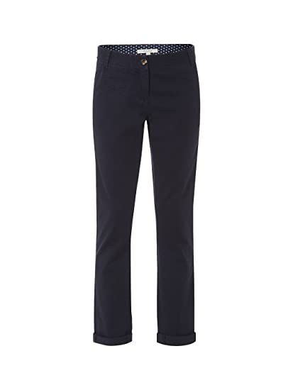 Ex White Stuff Ladies Womens Navy Blue Day Tripper Chinos 8-16 ... 7b4c3004b892f