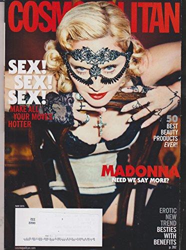 Cosmopolitan May 2015 Madonna Need We Say More?