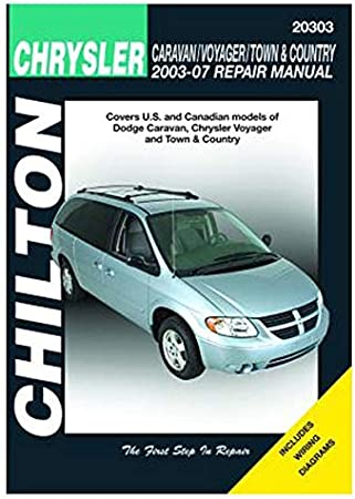 Amazon Com Dodge Caravan Voyager Chrysler Town Country 2003 07 Automotive