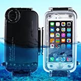 G&R GR PULUZ For IPhone 8 Plus & 7 Plus Photo Video Taking Underwater Cover Case40m/130ft Waterproof Diving Housing (Size : For 8p+7p black)