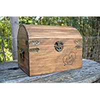 Rustic Wooden Card Box - Rustic Wedding Decor - Wedding Card Box - Rustic Wedding Card Box - Wedding Card Holder - Personalized Card Box