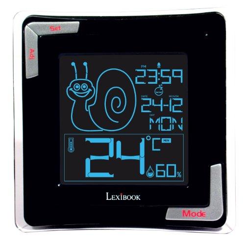 Lexibook Thermometer Hygrometer Backlight Calendar
