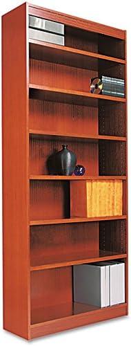 Editors' Choice: Seven-Shelve Square Corner Bookcase Finish: Cherry