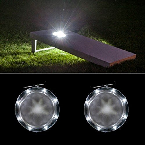 Cornhole Night Light Set by AJJ Cornhole