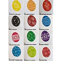 Pysanky dye Ukrainian Easter egg dyes coloring supplies set of 12