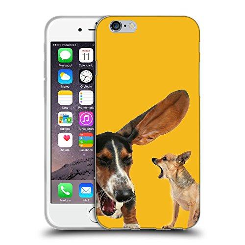 GoGoMobile Coque de Protection TPU Silicone Case pour // Q05600602 Basset chihuahua Ambra // Apple iPhone 7